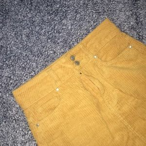 PacSun mini curduroy skirt